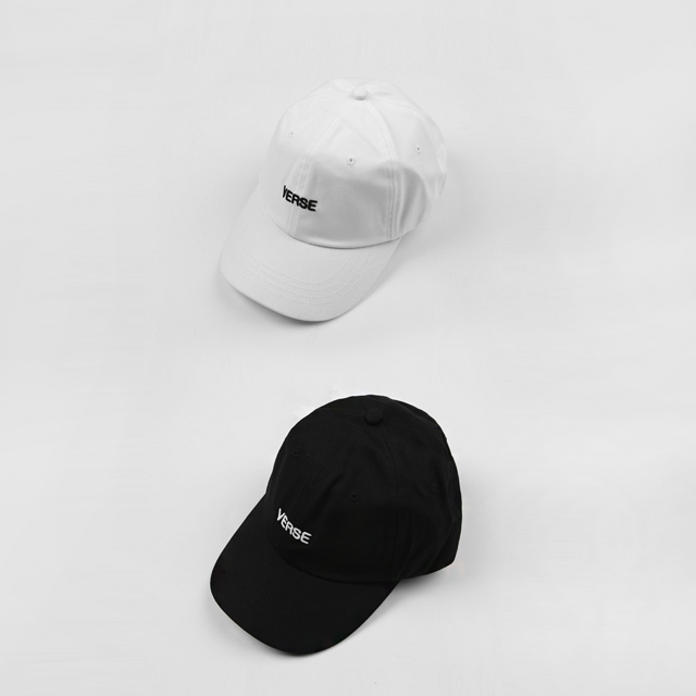 [VERSE] Lettering Embroidery Baseball Cap